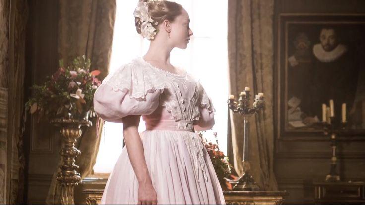 Cosette's wedding dress, Les Miserables, 2012