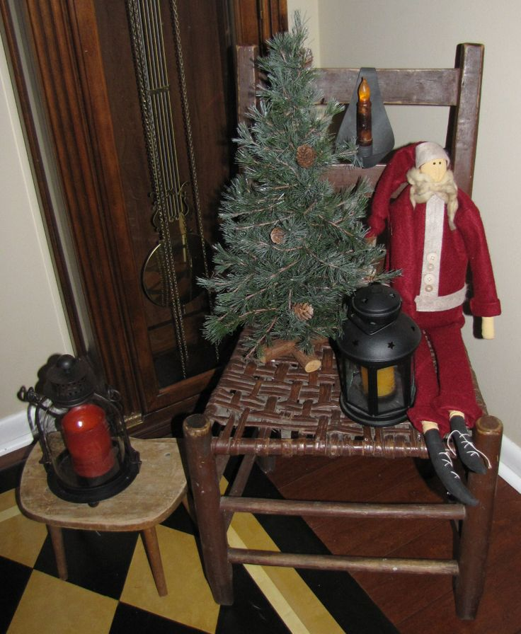 Primitive Christmas Christmas Decorating Pinterest