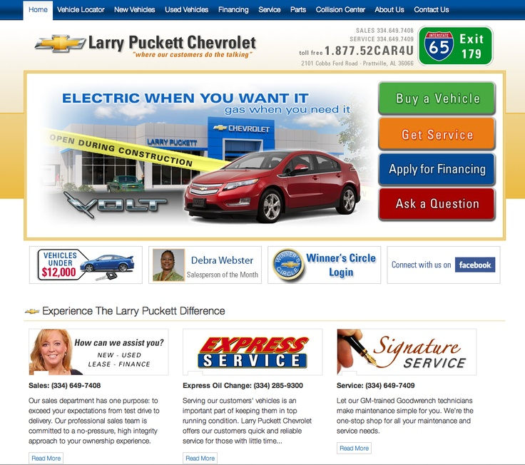 larry puckett chevrolet. Cars Review. Best American Auto & Cars Review