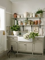 pretty and functional  utility work space