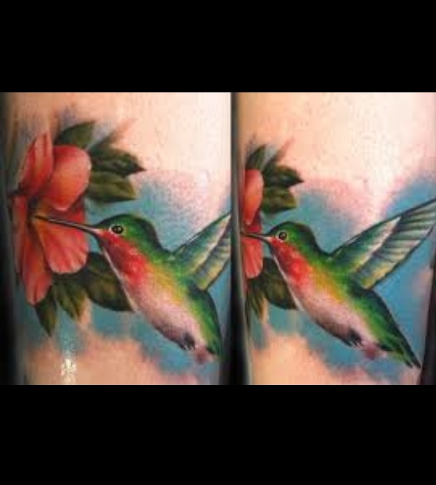 Hummingbird Wrist Tattoos