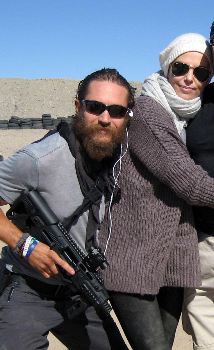 tom hardy with charliz...