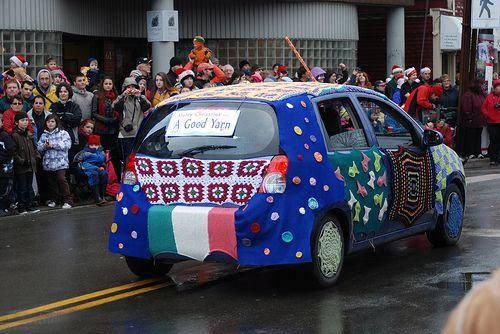 a good yarn(-bombed car)