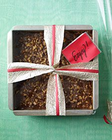 : toffee-and-chocolate candy bars, cream, and buttery shortbread ...