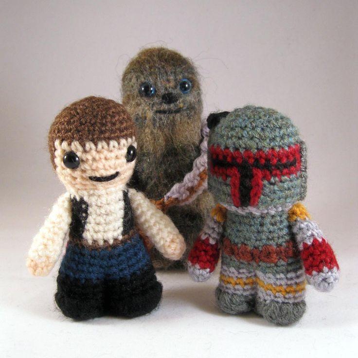 Schemi Amigurumi Star Wars : Star Wars amigurumi Products I Love Pinterest
