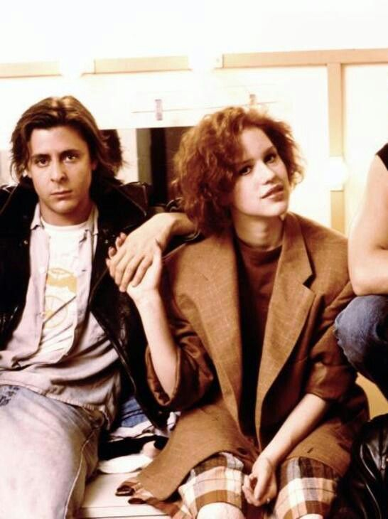 Judd Nelson and Molly Ringwald | 80s obsession | Pinterest