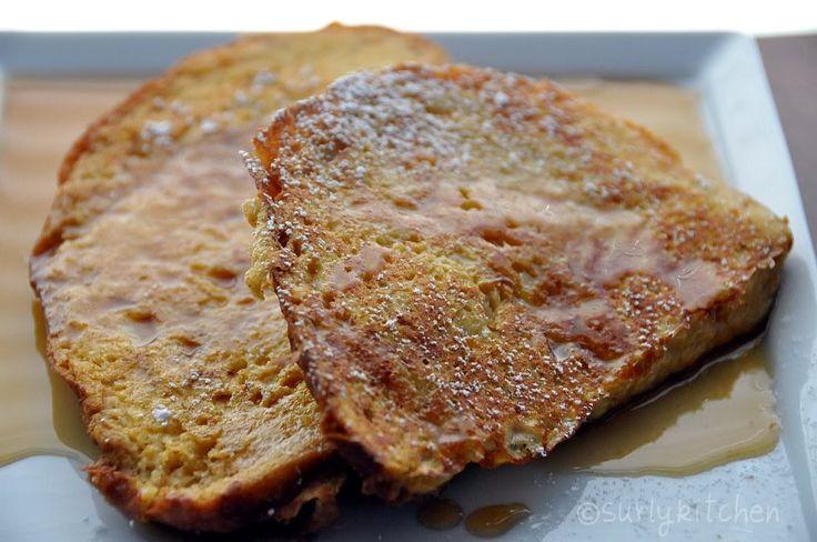 Pumpkin bourbon French toast | Pumpkin! | Pinterest