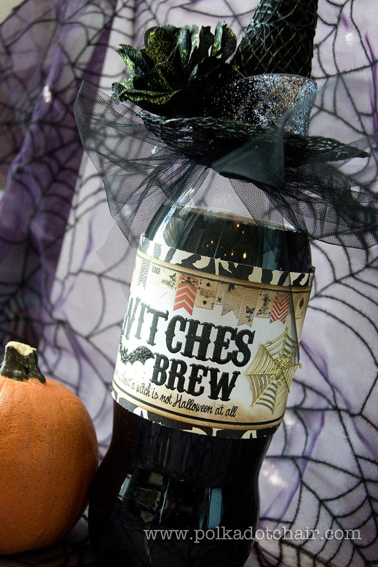 witches brew. a fun neighbor or teacher gift.