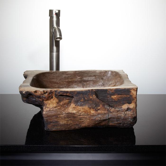 Parkline Petrified Wood Vessel Sink