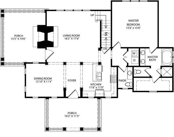 floor plan southern living for the home pinterest