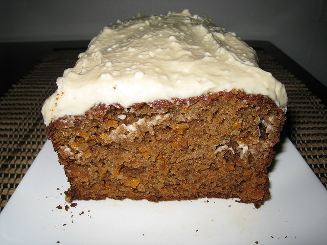 Carrot Cake With Maple Cream Cheese Frosting Recipe — Dishmaps