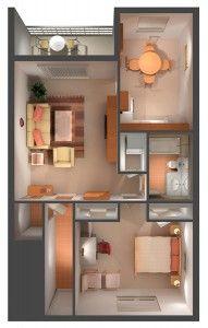 One Bedroom Overview