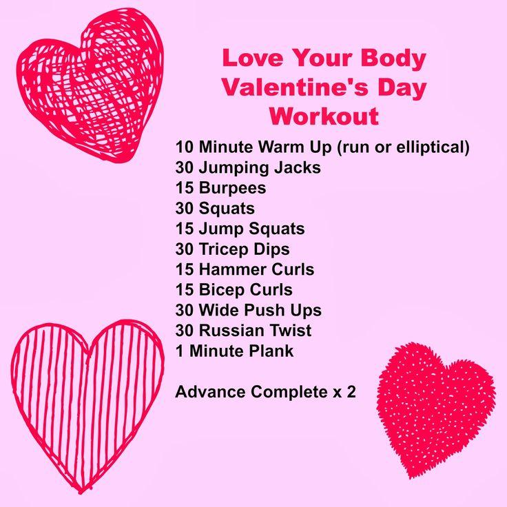 valentine's day fitness meme