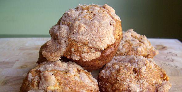 Pumpkin-Apple-Streusel-Muffins-artimg | Food/Recipes | Pinterest