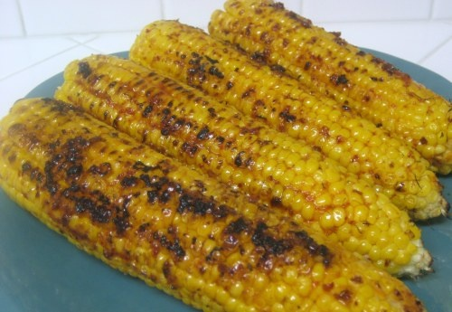 chipotle maple butter corn on the cob | new food | Pinterest