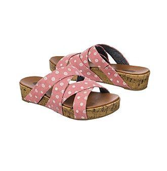 "Dr. Scholl's ""Freshen"" Casual Slide Sandals"