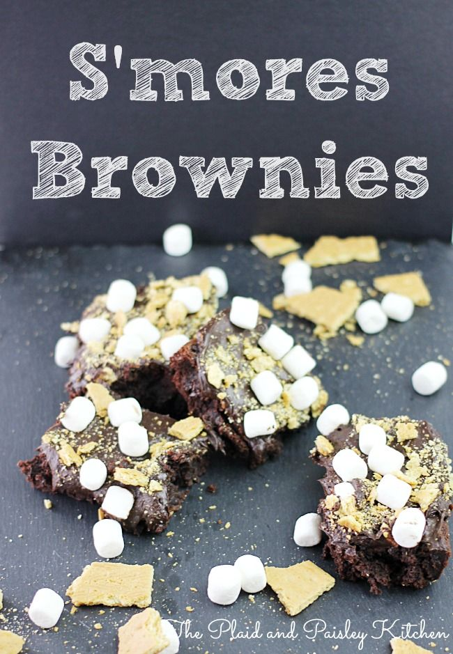 mores Brownies | Brownies | Pinterest