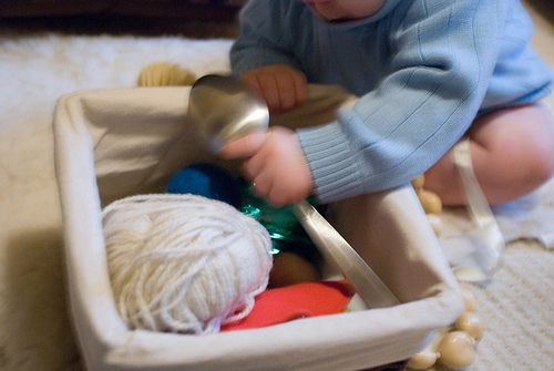 Treasure Basket for toddler