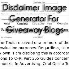 Disclaimer image generator betterblogging pinterest
