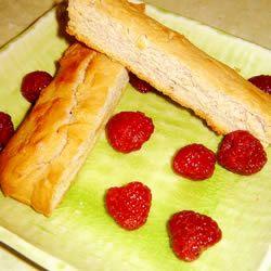 Raspberry Lemonade biscotti with a lemon orange glaze. I made the ...