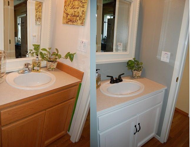 Powder room makeover dream home pinterest for Dream room maker