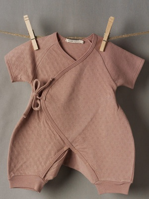 Tane Organics Kimono Onesie
