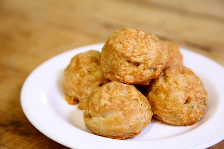 Gruyere Thyme Gougeres - By Chef Ellen Ginsberg