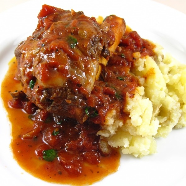 Lamb Shanks Braised with Tomato and Red Wine. More Lamb Shanks. Aim is ...