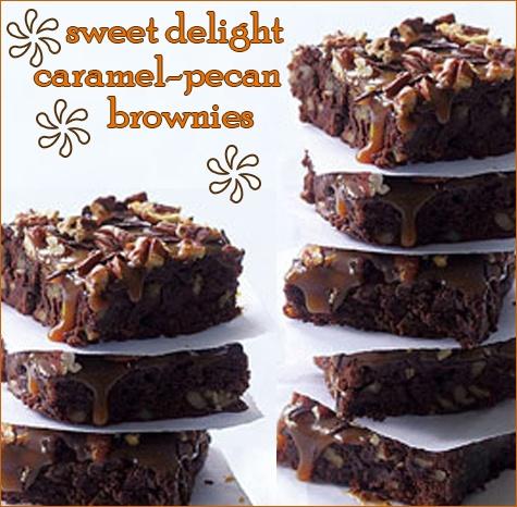 Caramel pecan brownies | desserts | Pinterest