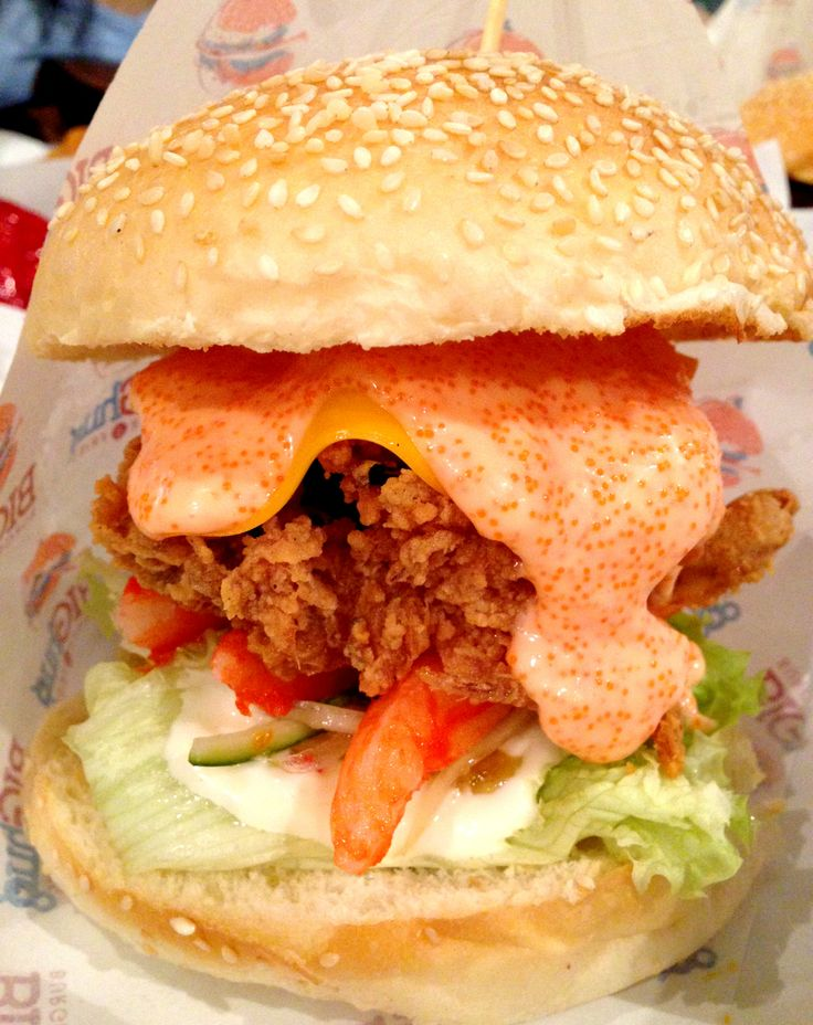 Soft-shell Crab Burger. | There Will Be Food | Pinterest
