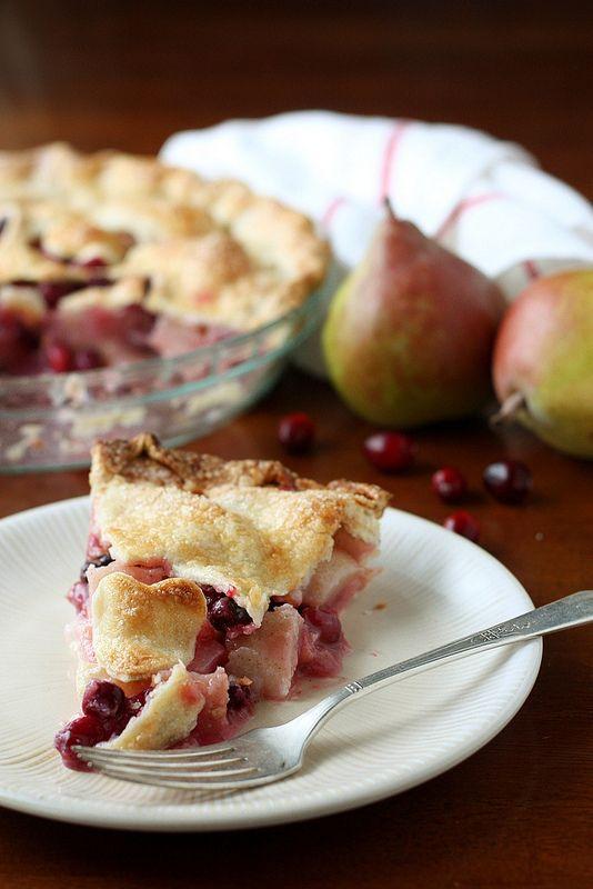 Cranberry Pear Pie | Sweetstuff | Pinterest