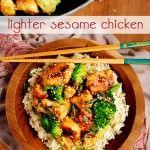 Lighter Sesame Chicken | Recipes To Try | Pinterest