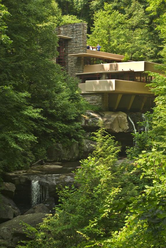 Frank Lloyd Wright Falling Water House 0 Temp Pinterest