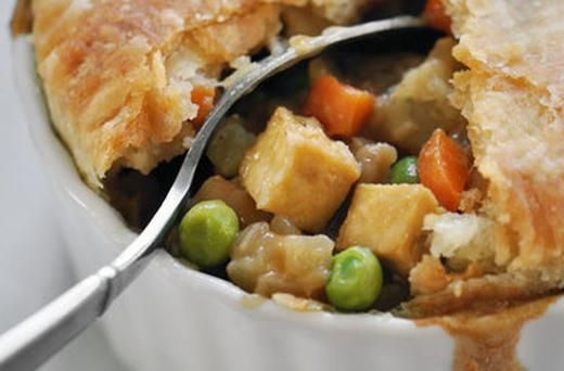 Vegan Tofu and Vegetable Pot Pie | Recipes | Pinterest