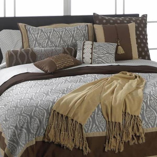 Natori block print silk bedding by natori