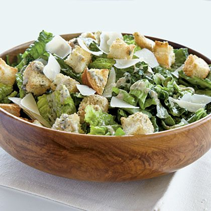 Pesto Caesar Salad by Cooking Light | Yummy | Pinterest