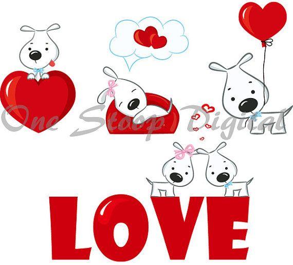 valentine puppy clipart - photo #34