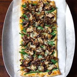 Savory Tart That Takes The Place of Old Green Bean Casserole ...