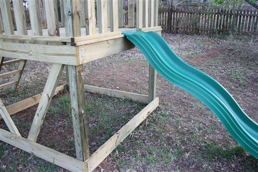 Viewalongtheway Backyard : DIY Playset  DIY Home Projects  Pinterest