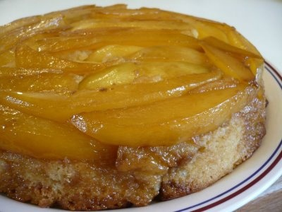 Mango & Cardamom Upside-down Cake | Baking yummy goodness! | Pinterest