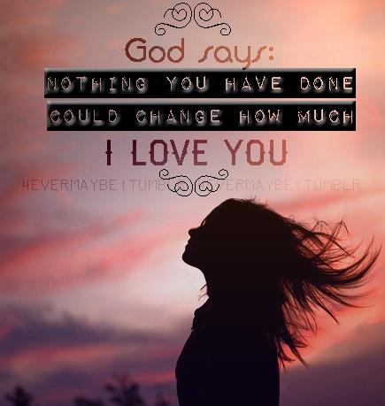 unconditional love Amen :D Pinterest