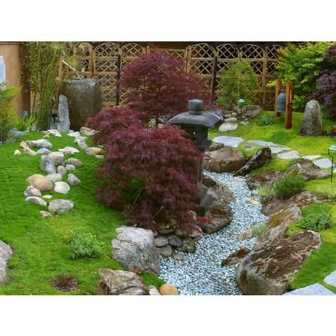 Small japanese garden vignette garden ideas pinterest for Small japanese garden designs