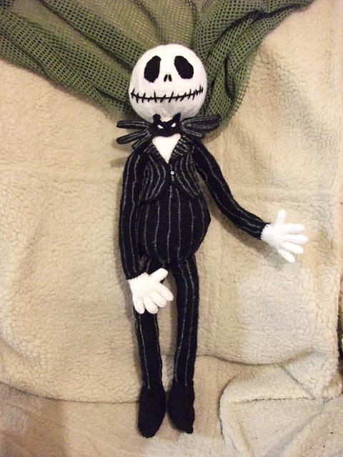 Free Crochet Pattern Of Jack Skellington : Pin by Rose Virginia on Kids Pinterest