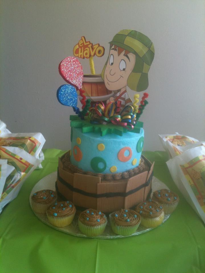 El Chavo del Ocho b-cake by Dulce Galeria