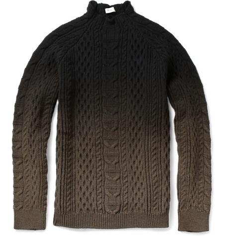 balenciaga - aaron knit ombre