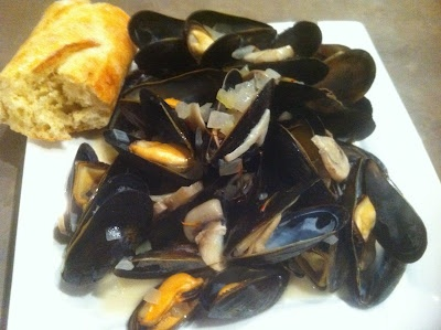 Mussels with saffron cream sauce | Food on Friday: Fish and Seafood ...
