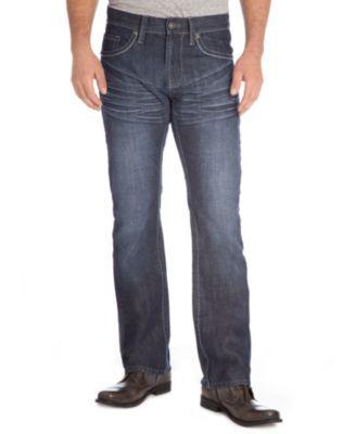 Royal Premium Denim Jeans, Straight-Leg Embellished Pocket