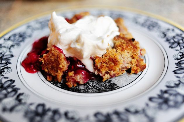 Raspberry Crisp | Recipe