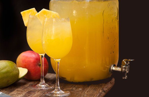 Pineapple Cucumber White Sangria | Finger Foods & Cocktails | Pintere ...