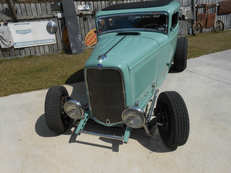 1932 ford 5 window coupe rat rod gt